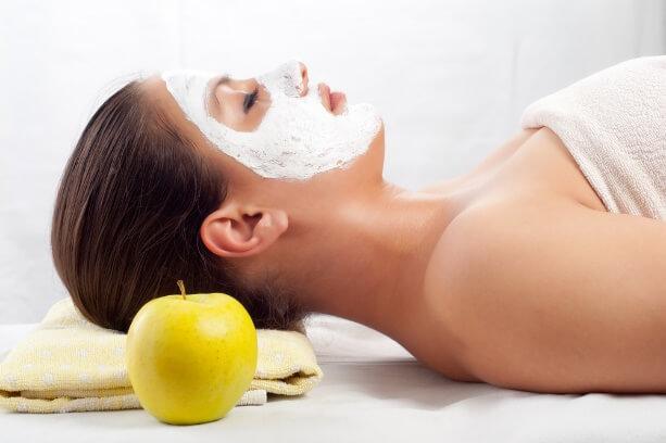 maseczka na twarz z jabłkiem