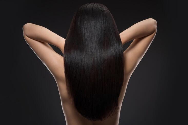 płukanka do włosów dla brunetek