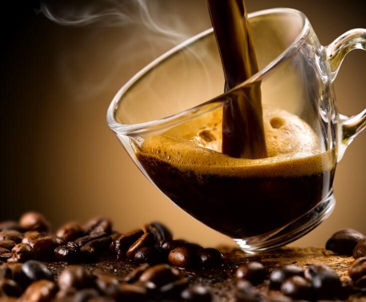 płukanka do włosów z kawy